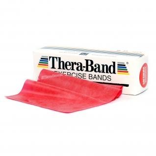 Thera-Band® 5,5 m, rot-mittel