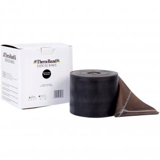 Thera-Band® 45,5 m, schwarz-spezial stark