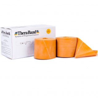 Thera-Band® 45,5 m, gold-max. stark