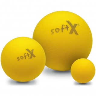 Soft X® Trainingsball, gelb