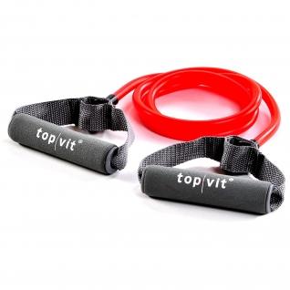 top | vit® bodytrainer.tubing, rot - leicht