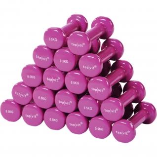 top | vit® dumb.bell Sparpaket 10 Paar 0,5 kg - pink