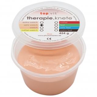 top|vit® therapie.knetmasse sehr weich, hell-beige 454 g