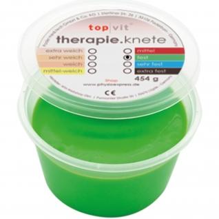top|vit® therapie.knetmasse fest, grün 454 g