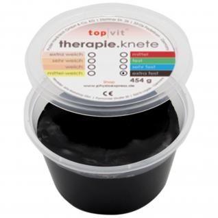 top|vit® therpie.knetmasse extra fest, schwarz 454 g