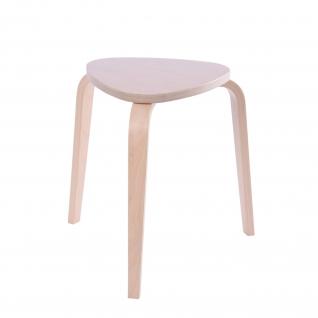 Hocker aus Holz, stapelbar, Sitzhöhe: 45 cm