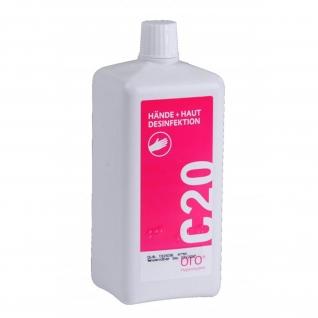 Hand- und Hautdesinfektion C20 500 ml / 1000 ml
