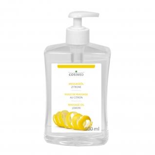 Massageöl Zitrone 0,5L / 1L / 5L