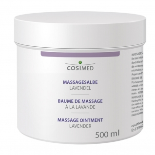 Massagesalbe Lavendel, 500 ml Dose