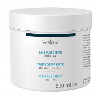 Massagecreme kühlend, 500 ml Dose