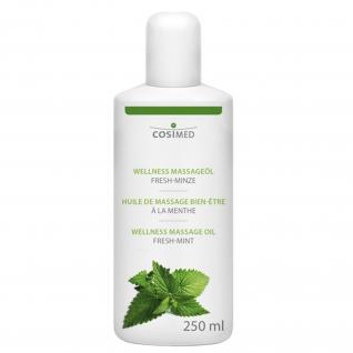Wellness Massageöl Fresh-Minze 250 ml / 500 ml / 1L / 5L