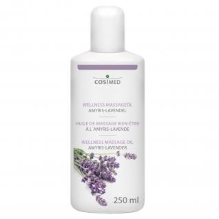 Wellness Massageöl Amyris-Lavendel 250 ml / 500 ml / 1L / 5L