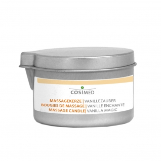 Massagekerzen, 92 g Dose Vanillezauber