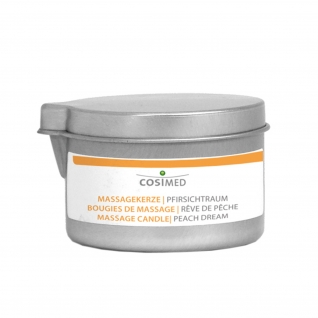 Massagekerzen, 92 g Dose Pfirsichtraum