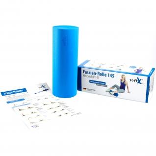 softX® Faszien-Rolle 145, blau