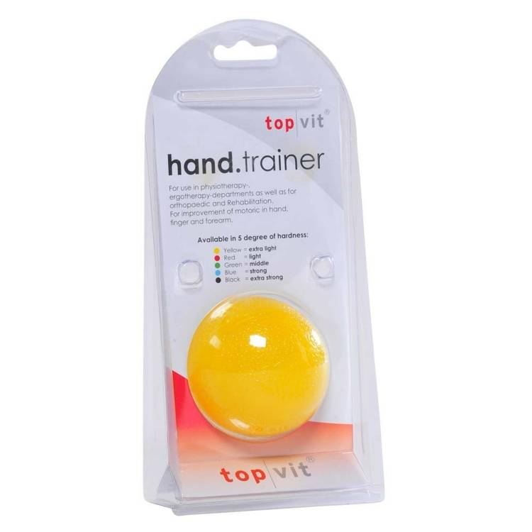 Öffne top | vit® hand.trainer, gelb - extra leicht