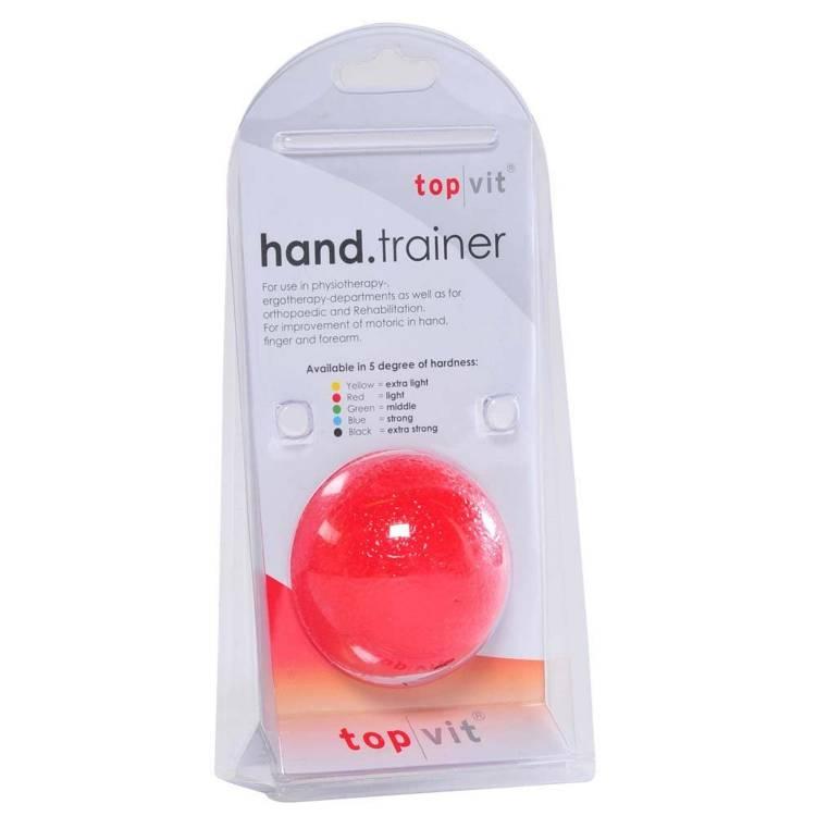 Öffne top | vit® hand.trainer, rot - leicht